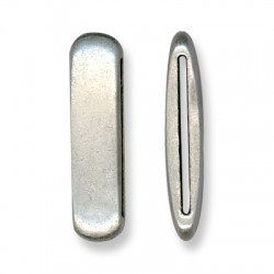 Passant Ovale en Métal/Zamac, 13x47mm (Ø 40.2x2.2mm)