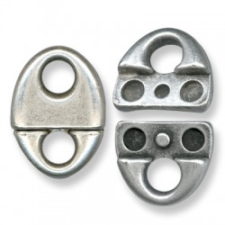 Zamak Magnetic Connector Clasp 22x30mm