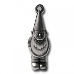 Pendentif Gnome en Métal/Zamac, 11x34mm