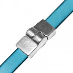 Zamak Magnetic Side Lock Clasp 17x12mm (Ø 3.2x10mm)