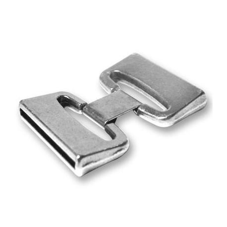 Fermoir avec Clip en Métal/Zamac, Ø 30x2.5mm