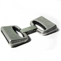 Zamak Clasp with Clip (Ø 20x2.5mm)