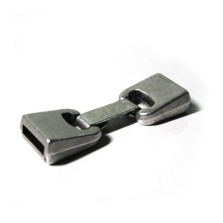 Chiusura con Clip in Zama (Ø 10x2.5mm)