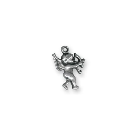 Breloque Cupidon en Métal/Zamac, 13x18mm