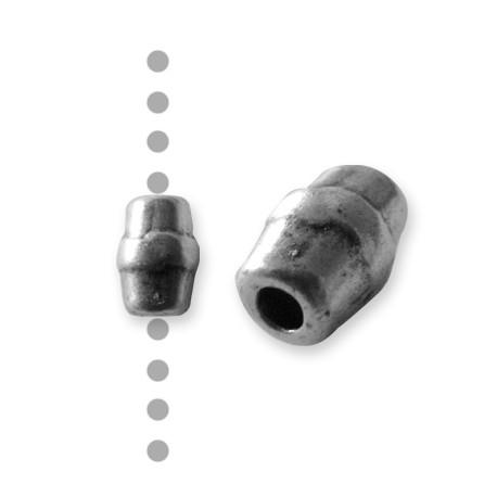 Passant Tube en Métal/Zamac, 6x10mm