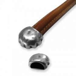 Μεταλλικό Ζάμακ Χυτό Καπελάκι Τελείωμα 16x13mm (Ø10.3x5.6mm)
