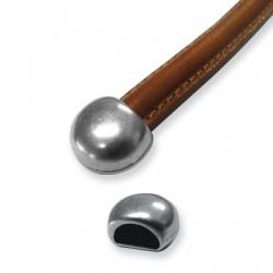 Μεταλλικό Ζάμακ Καπελάκι Τελείωμα Απλό 16x14mm (Ø10.3x5.6mm)
