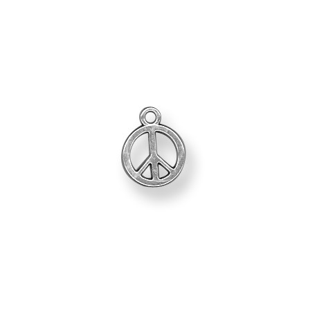 Charm in Zama Segno della Pace 12mm
