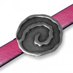 Μεταλλικό Ζάμακ Χυτό Στοιχείο Στρογγυλό Περαστό 36mm (Ø15mm)