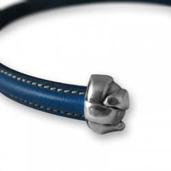 Zamak End Cap Knot 11x16x12mm (Ø 10.2x5.2mm)