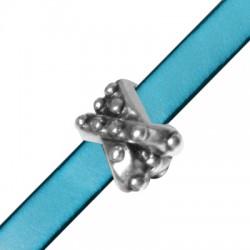 Μεταλλικό Ζάμακ Χυτό Στοιχείο Περαστό 12x13mm (Ø10.5x2.5mm)