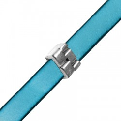 Passante in Zama a Cinturino Metallico 10x15x6mm (Ø10.2x3mm)