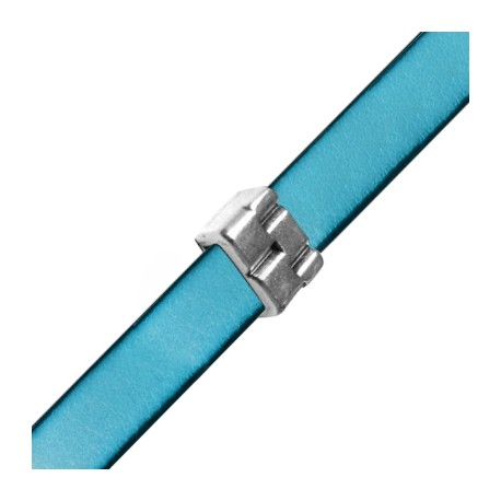 Passant en Métal/Zamac, 10x15x6mm (Ø 3x10.2mm)