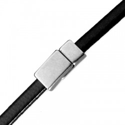 Zamak Magnetic Clasp 17x8mm (Ø 6x2mm)