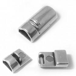 Zamak Magnetic Clasp 25x13mm (Ø 10x6mm)
