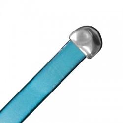Μεταλλικό Ζάμακ Τελείωμα Καπάκι Ακανόνιστο 11x12mm(Ø10x3.5mm