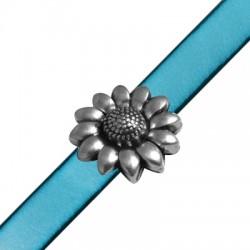 Μετ.Ζάμακ Χυτό Μαγνητικό Κούμπωμα Λουλούδι 20mm(Ø10.2x2.2mm)
