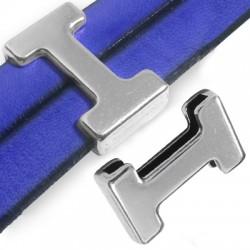 """Passant Puzzle """"I"""" en Métal/Zamac, 14x24mm (Ø 20.5x2.5mm)"""