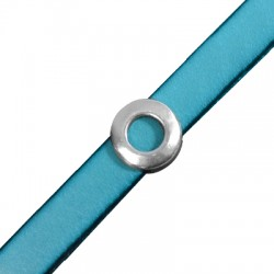 Μεταλλικό Ζάμακ Χυτό Περαστό Στρογγυλό 14mm (Ø10.5x2.5mm)