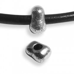 Μεταλλικό Ζάμακ Χυτό Περαστό Μπαμπούσκα 8x14mm (Ø5mm)