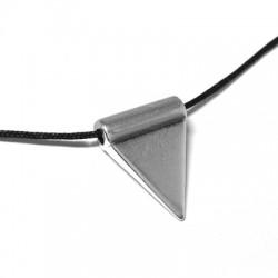 Zamak Pendant Triangle 17x8mm (Ø 2.5mm)