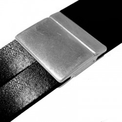 Fermoir Aimanté en Métal/Zamac, 30x30mm (Ø 30x2.8mm)