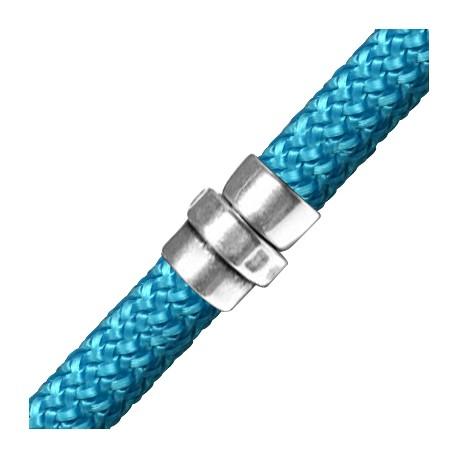 Zamak Set Magnetic Clasp Tube 17x14mm (Ø 10mm)