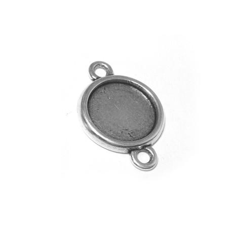 Intercalaire-Support Rond en Métal/Zamac, 19mm (Diamètre Intérieur 15mm)