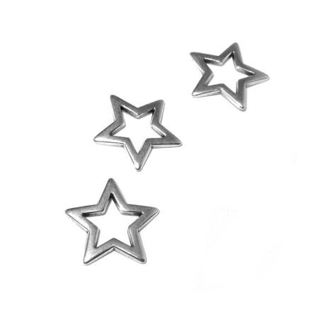 Zamak Connector Star 18mm