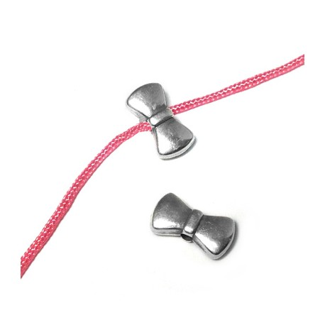 Zamak Slider Knot 10x5mm (Ø 1.5mm)