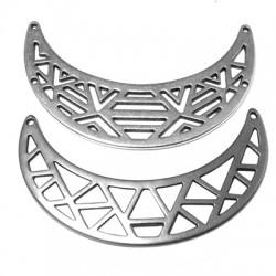 Zamak Connector Collar Necklace 64x19mm (2 pieces)