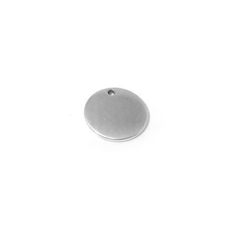 Zamak Charm Plain Round 12mm (Ø 1.3mm)