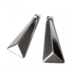 Ciondolo in Zama Elemento Geometrico 35x16mm