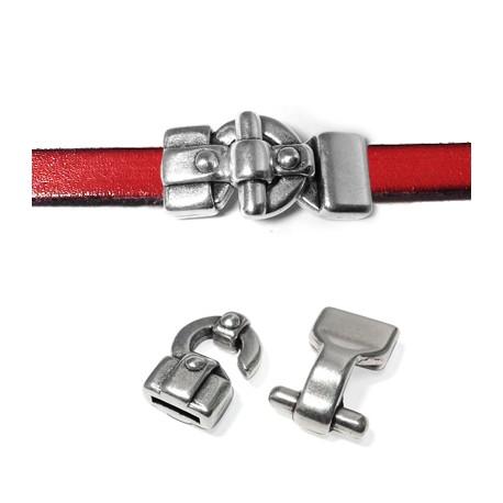 Zamak Clasp Hook 34x17mm (Ø 10x2mm)