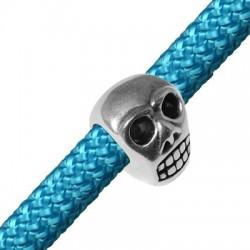 Zamak Slider Skull 21x15mm (Ø 10mm)