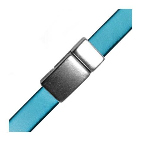 Chiusura a Calamita in Zama 28x13mm (Ø 10x2.2 mm)