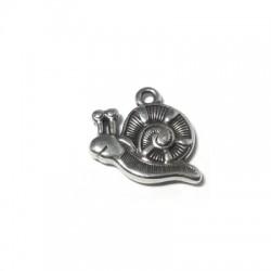 Zamak Charm Snail 12x17mm