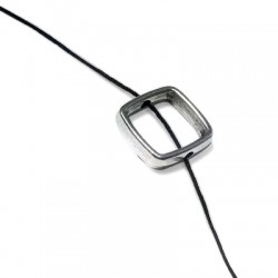 Zamak Slider Square Hollow 13mm (Ø 1.8mm)