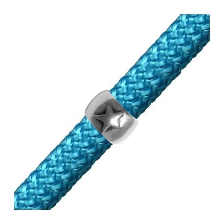 Tube Étoile en Métal/Zamac, 15x10mm (Ø10mm)