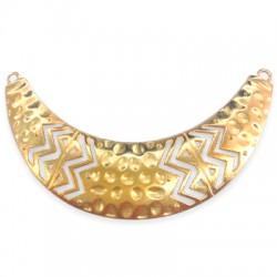 Zamak Connector Collar Necklace 102x29mm
