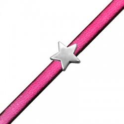 Μεταλλικό Ζάμακ Χυτό Στοιχείο Αστέρι Περαστό 10mm (Ø2.2x5.2mm)