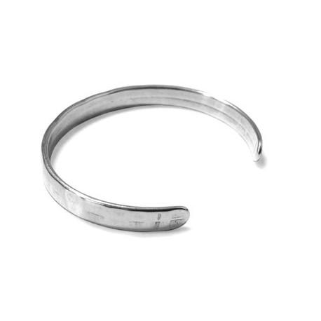 Bracelet Martelé en Métal/Zamac, 60x7mm