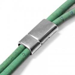 Zamak Magnetic Clasp 26x12.5mm (Ø 10x5mm)