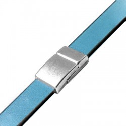 Zamak Magnetic Clasp 21x12.5mm (Ø 10x2.2mm)