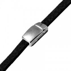 Zamak Magnetic Clasp 17x8.2mm (Ø 5.2x2.2mm)