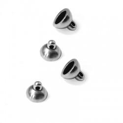 Zamak Magnetic Clasp Round 8mm (Ø 1.5mm)