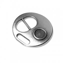 Μεταλλικό Ζάμακ Χυτό Κούμπωμα Στρογγυλό 30mm