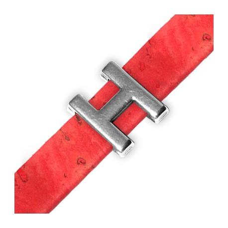 Zamak Slider Letter 'H' 15mm (Ø 10.5x2.4mm)