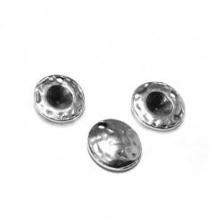 Μεταλλικό Ζάμακ Χυτό Στοιχείο Στρογγυλό 9mm με Βάση 4mm