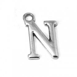 """Μεταλλικό Ζάμακ Χυτό Γράμμα Κρεμαστό """"N"""" 12mm"""